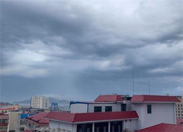 """威海再次迎来""""雷电+大风+降水""""组合!29秒看雨后美景"""
