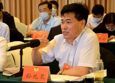 44秒|滨州市政协委员孙兆泉:建议把济滨高铁提升为黄河下游城市和中游城市的连接线