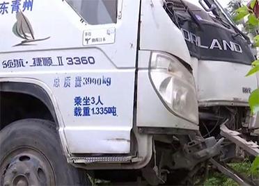 潍坊一机动车检测站人员无证驾驶撞坏检测车辆 车主和公司就赔偿方案意见不一
