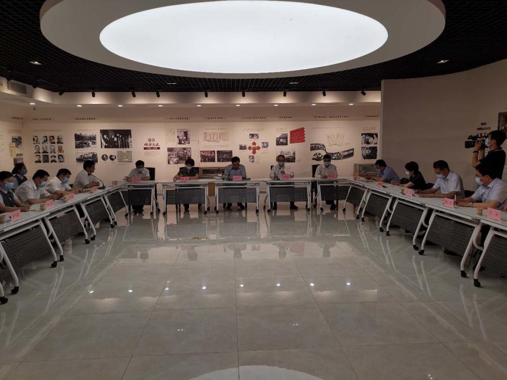 山东全省工会12351职工热线平台开通运行一周年座谈会召开