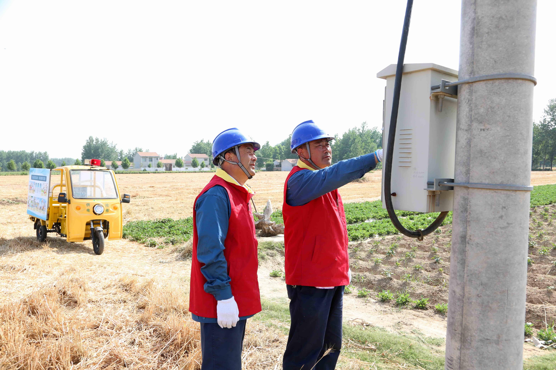 国网山东电力全力保障夏收夏种可靠供电