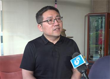 2020威?!坝摃必u曉虎:通過基金、投資等手段 促進威海產業升級