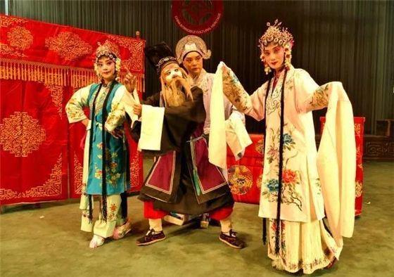 山东省柳子戏艺术实践创新试验基地在曲阜揭牌 文化惠民演出活动同时举办