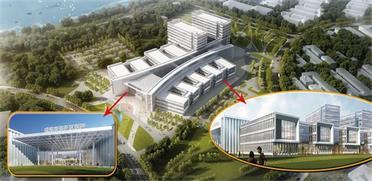 日門診量可達1800人次 威海南海新區三甲醫院明年建成投用