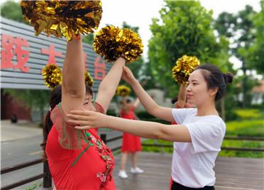 """寿光:送文化 """"种""""文化 让乡村文化生活美起来"""