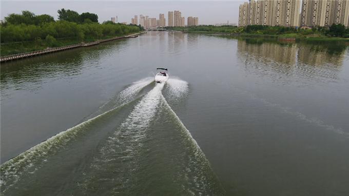 34秒丨一期工程总投资7.56亿 东营加快广利河周边水环境建设