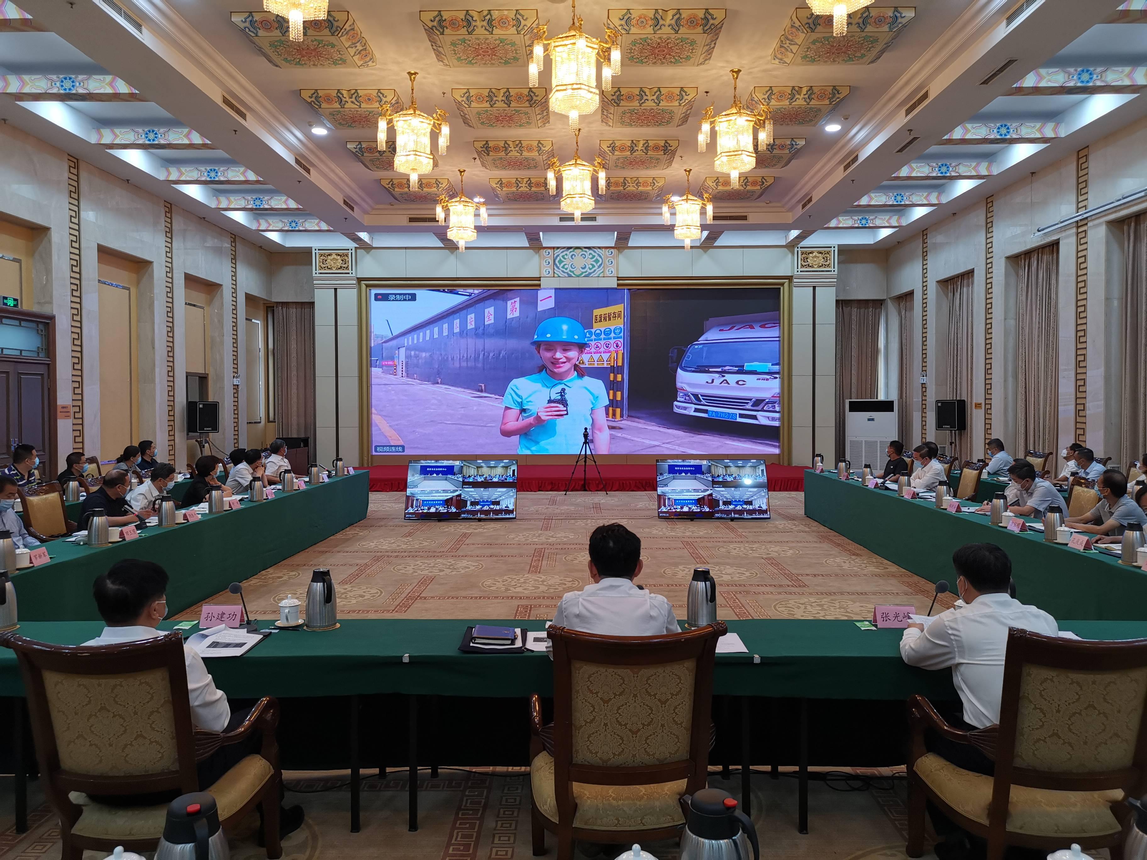 云视频+5G连线!山东省人大常委会开展安全生产执法检查