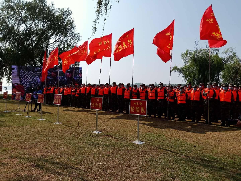 德州齐河县举办2020年防汛应急综合演练