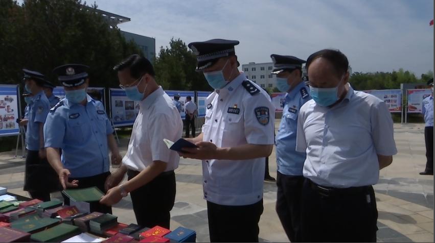 """枣庄市举行""""6.26""""国际禁毒日宣传现场会"""