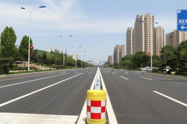路面更通畅!威海文化路高新区段综合改造提升工程完工