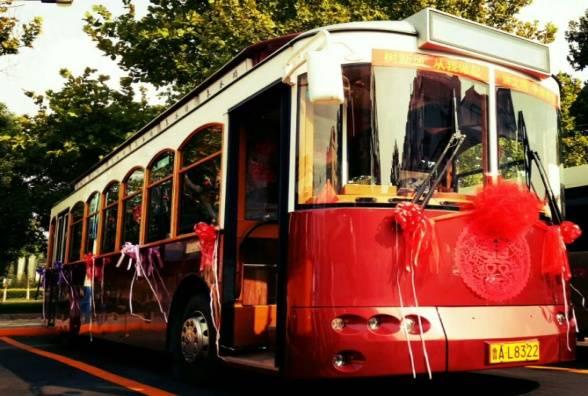 """用最拉风的婚车办一场最难忘的婚礼!济南公交""""甜蜜蜜""""定制专线上线啦"""