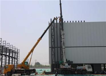 端午小长假 潍坊高新区项目建设如火如荼