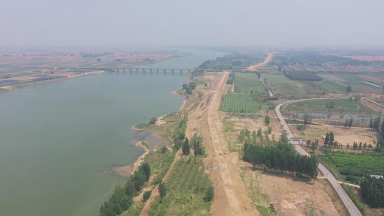 46秒|达到50年一遇防洪标准!潍坊昌邑潍河防洪治理工程全面竣工