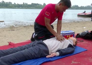 59秒|防溺水在行动!聊城开展水上救援演练,提升实战能力