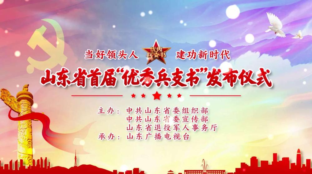 """山东省20名基层党组织书记获评""""优秀兵支书"""""""