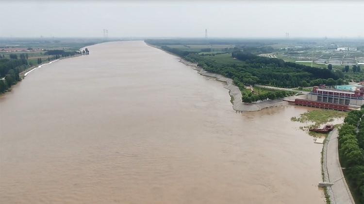 44秒丨滨州博兴县完善预案加强巡护 确保黄河洪峰安全过境