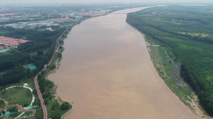 35秒|最大洪峰已顺利过境黄河滨城段 最高水位达16米