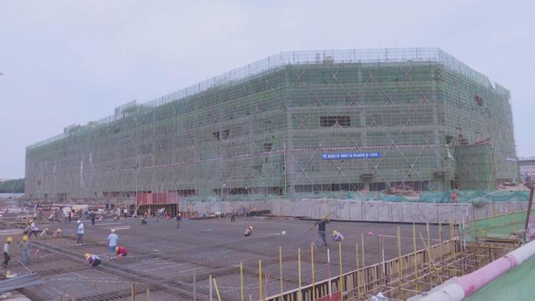 50秒|投资近50亿 中国潍坊综试区国际博览园项目稳步推进