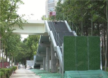 38秒丨潍坊奎文区新增5座过街天桥 预计9月底前竣工通行