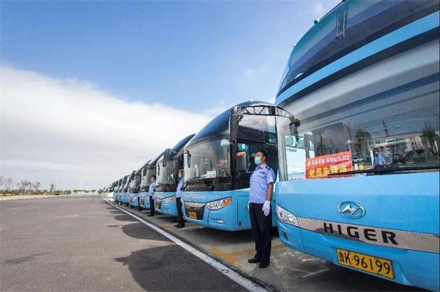 7月15日起,威海榮成公交開空調了