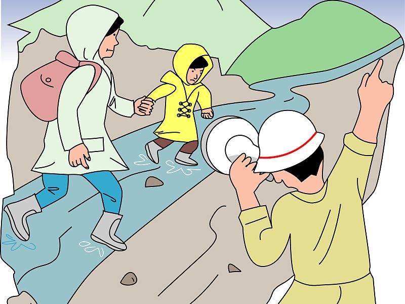 【地评线】齐鲁漫评:党员干部要向水而行 当好防汛救灾排头兵