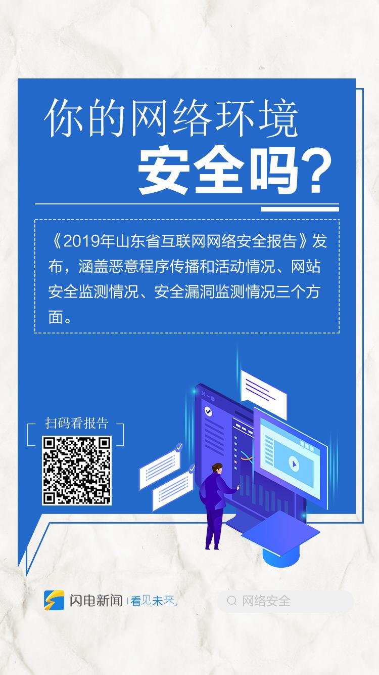 网络安全不容忽视!九图速览2019山东省网络安全报告