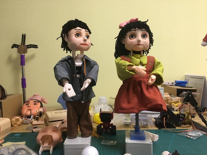 """童年又回来了!当非遗文化遇上现代科技 木偶也有了""""机器心"""""""