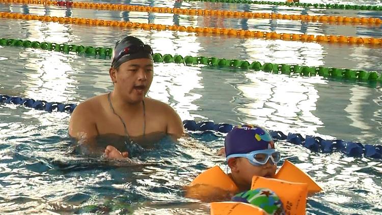 48秒丨滨州沾化区计划在全区普及小学学段游泳教育