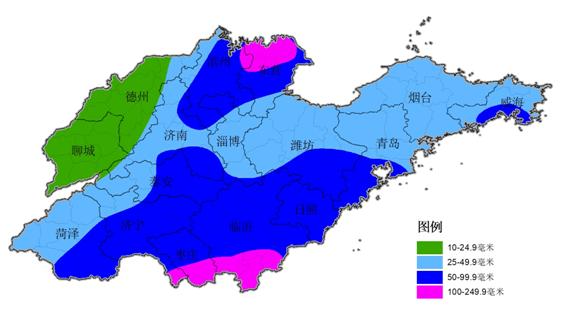 海丽气象吧丨18、19日山东将迎大范围强降水 城市内涝和农田渍涝等风险较大