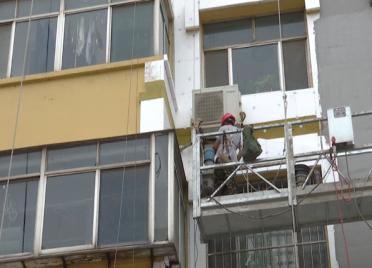 77秒丨投资413万元!潍坊市坊子区老旧小区改造工程惠及500余户居民