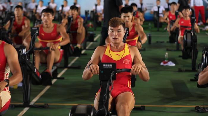 30秒丨赛艇皮划艇国家队奥运会选拔赛在日照开赛