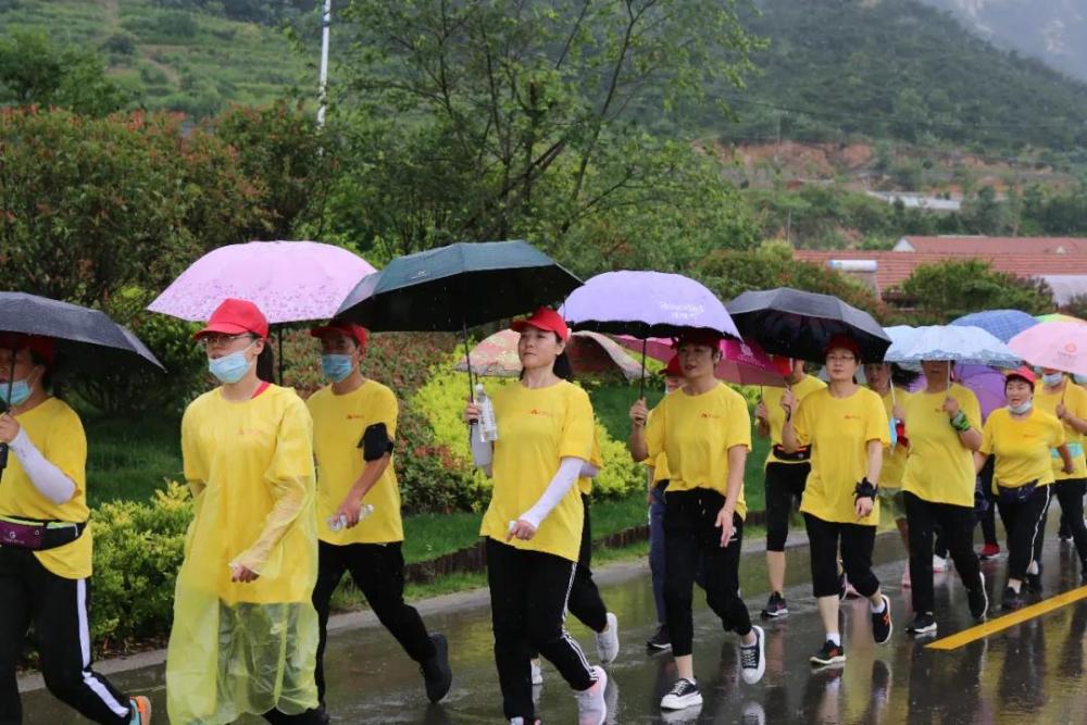 30秒丨日照市东港区举办第十届全民健身运动会健步行活动