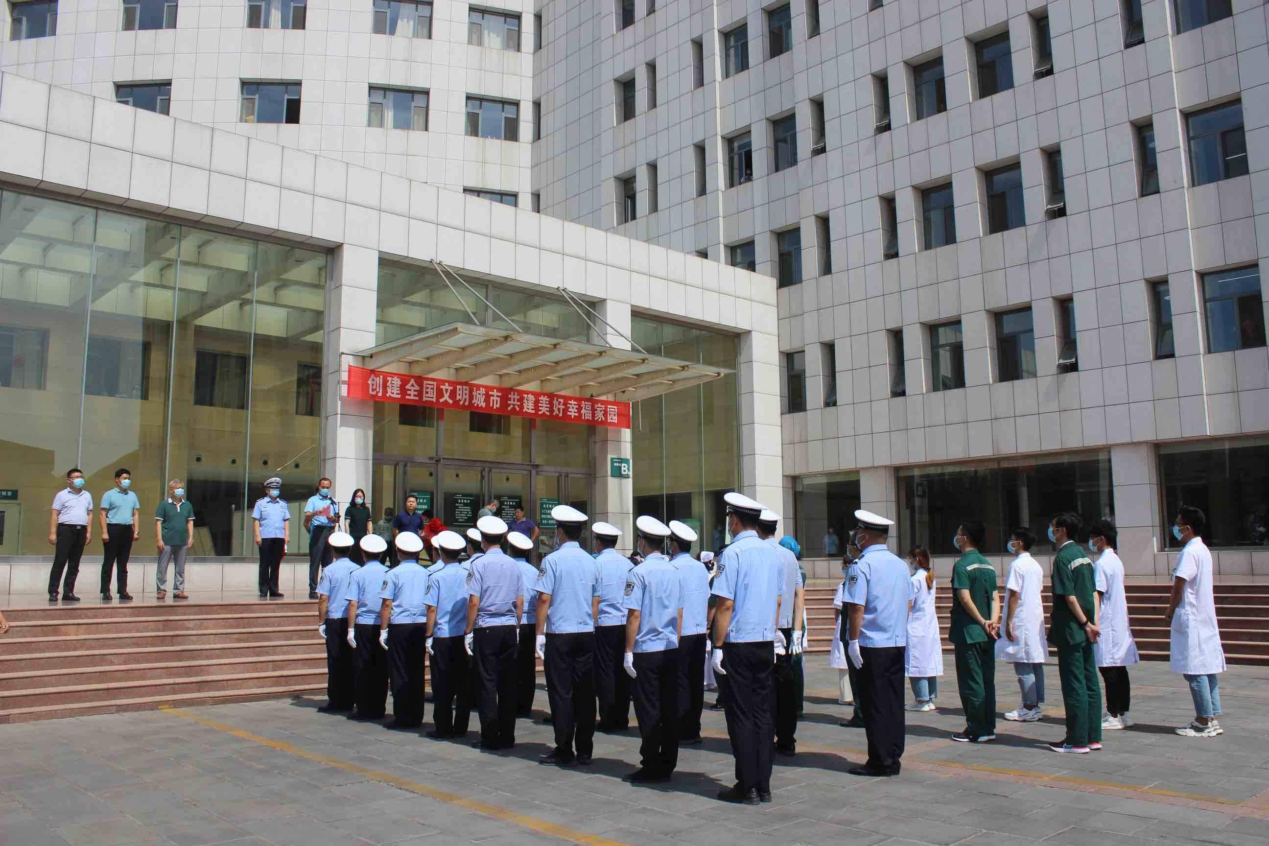 淄川区建立道路交通事故伤员救援点 打造高效救援