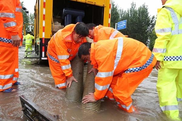 临沂一场暴雨下了约20.32亿方!做好防汛工作,这群人一直在路上