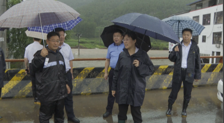36秒|雨情就是命令,暴雨来临靠前指挥!枣庄山亭严防死守确保安全度汛