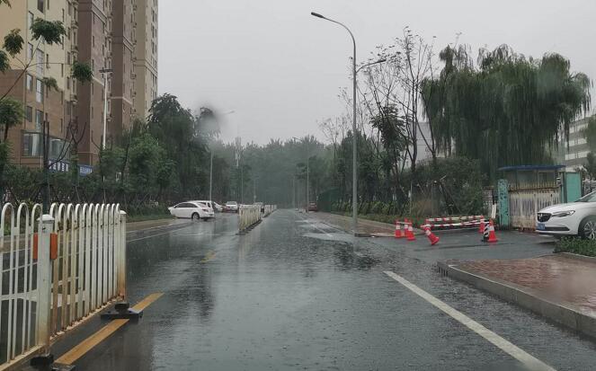 临沂罗庄城区积水点改造工程见成效 雨后道路积水明显减少