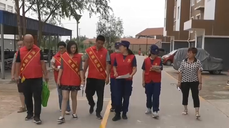 52秒丨滨州沾化:消防志愿服务行 携手共创文明城