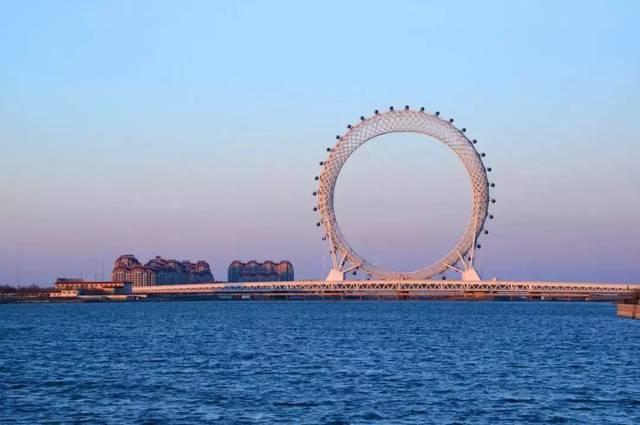 炎炎夏日去哪耍?潍坊市民可坐公交直达渤海之眼摩天轮、欢乐海沙滩……