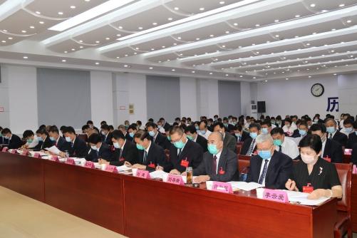 中国共产党济南市历城区第十四届委员会第十次全体会议举行