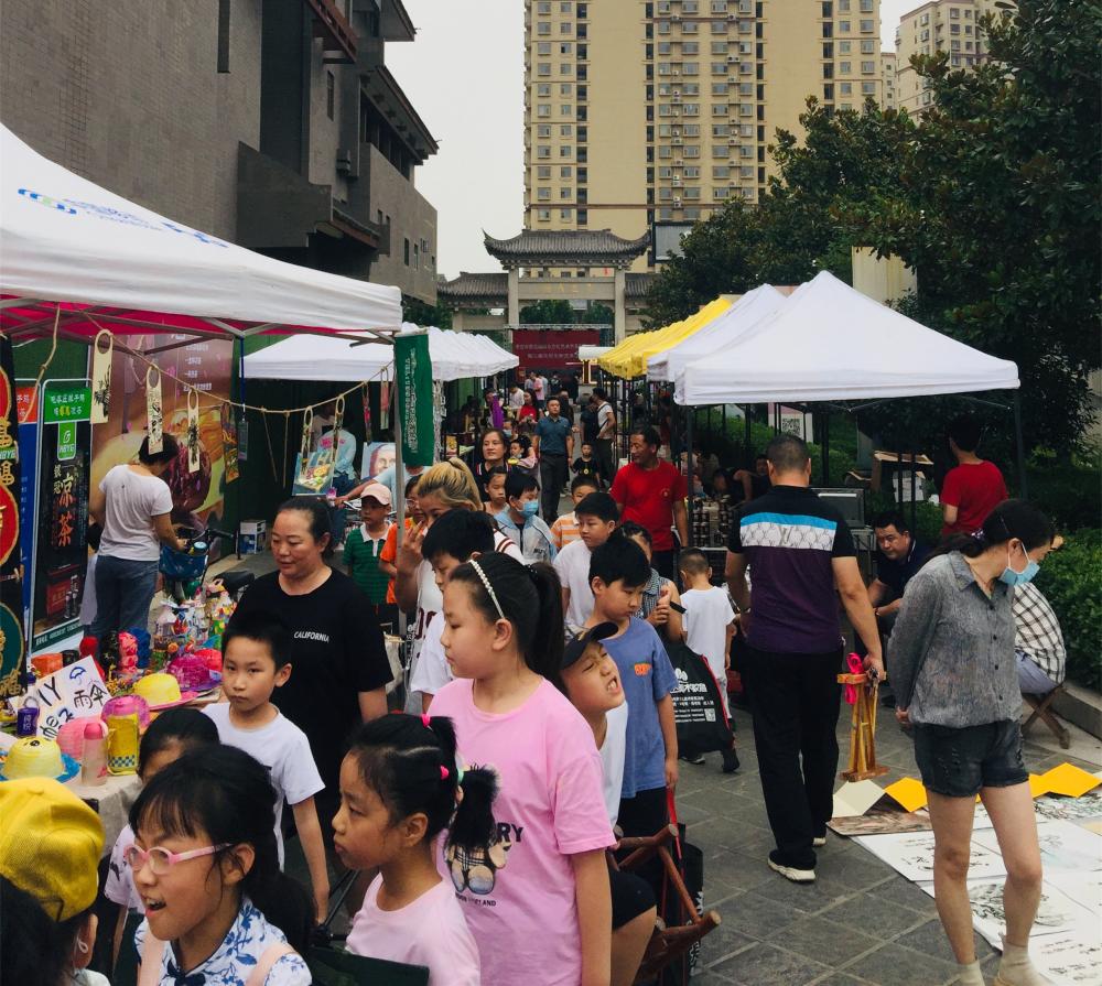 28秒|80多個文創攤位各具特色,棗莊市中文旅消費挺紅火