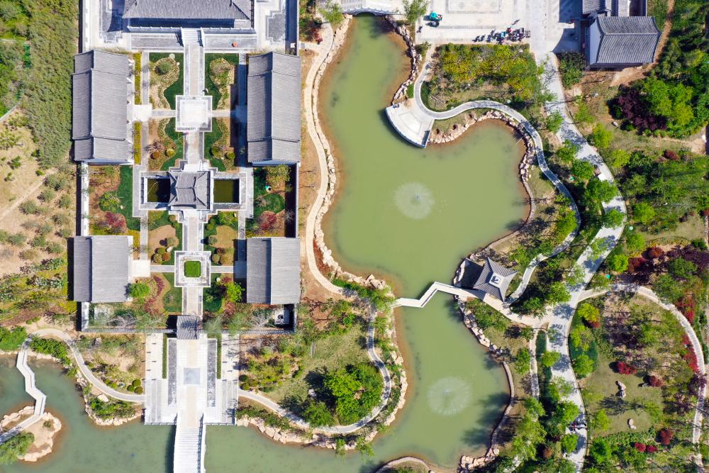 棚户区变身江南园林 济宁梁山县巧绘城市建设的水墨丹青