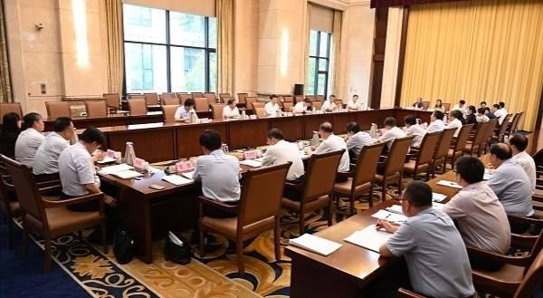 淄博市对口支援和扶贫协作工作领导小组会议召开