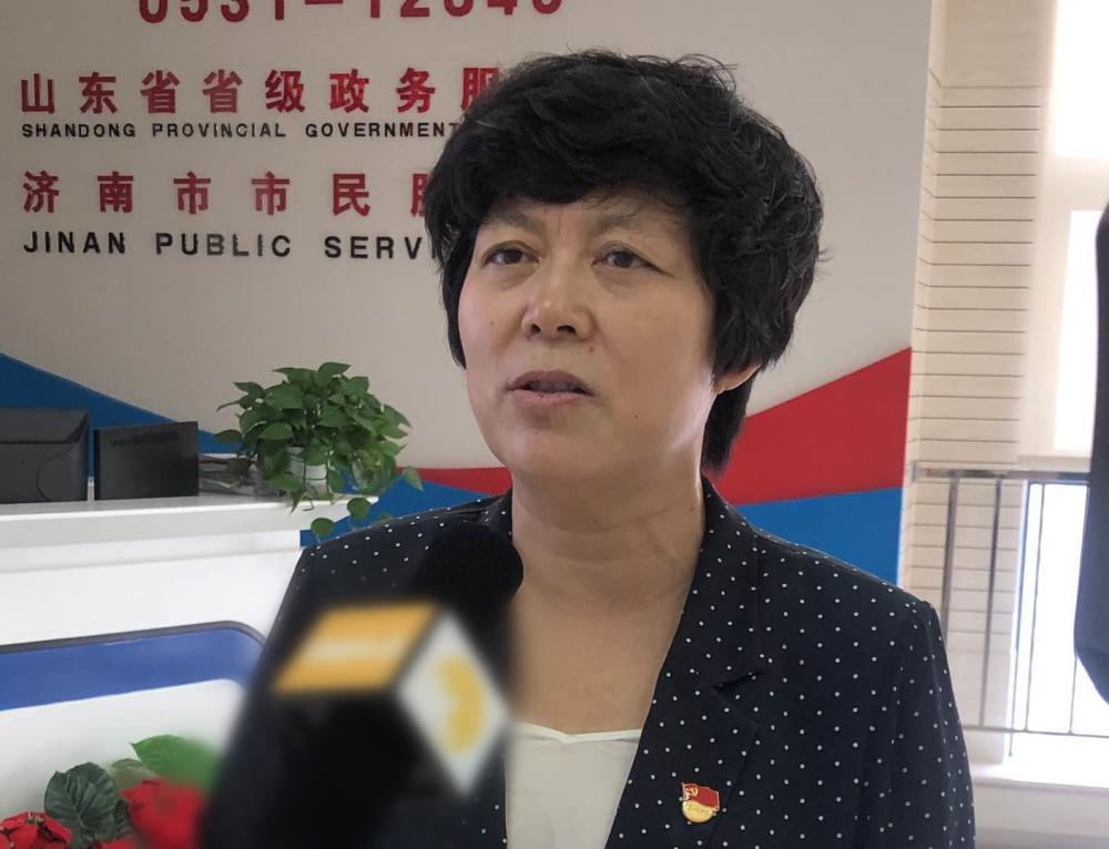 济南市莱芜区委副书记、区长秦蕾:今年上半年热线办理群众满意率和百分制考核均在全市排名第2