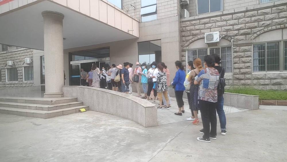 问政山东丨枣庄市中区健康证办理预约等3月 工作人员:区里定点就一个单位