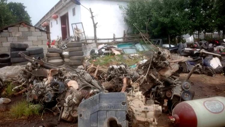 问政山东丨非法拆解报废车拆解工表示没人管 枣庄市市长:发现一起打击一起
