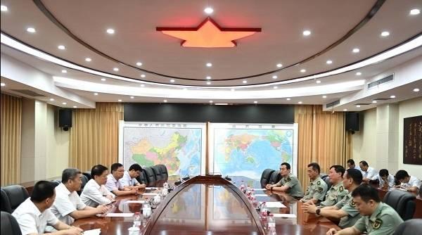 """淄博市委书记江敦涛""""八一""""走访慰问驻淄部队"""