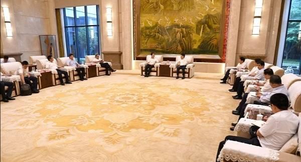 淄博市委书记江敦涛会见吉利集团客人 就深化合作事宜进行深入洽谈