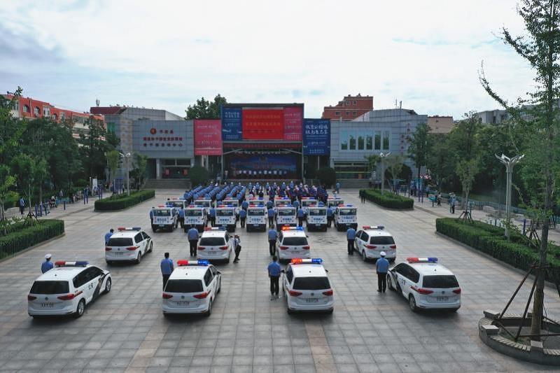 济南平阴为社区民警配发24辆巡逻车 14支社区治理服务队服务覆盖244个小区