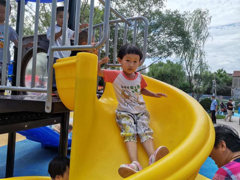 济南市槐荫区拍了拍你!17000平米康养公园正式开放