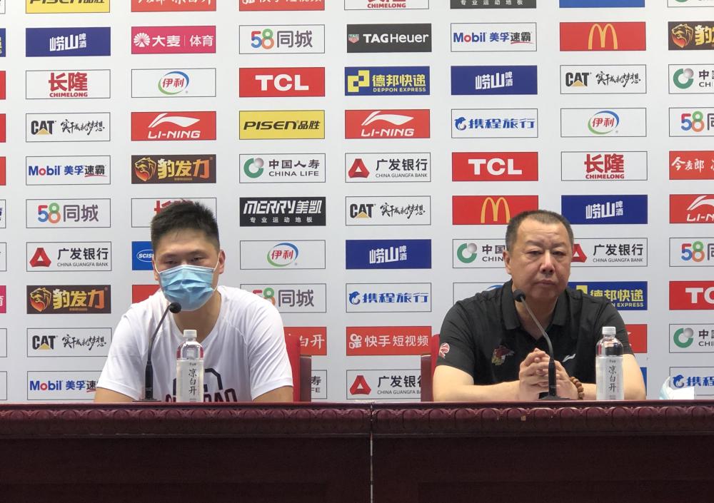 吴庆龙:对阵山东球员顶住了压力 感谢广大球迷认可